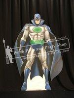 3-Superhero-Blue Cape