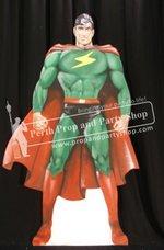 4-Superhero Red Cape
