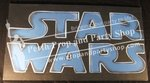"18-""Stars Wars"" Sign"
