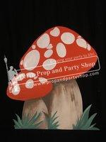 8-Mushroom Red White Small