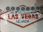 """8-""""Las Vegas"""" sign with lights"""