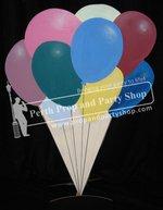 9-Balloon Cluster