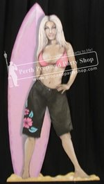 10-Surfer Girl - Pink Top
