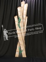 15-Bamboo Poles Cluster