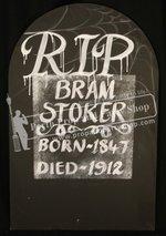 57-TOMBSTONE RIP BRAM STOKER