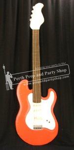 28-Red guitar