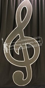 24-Giant Treble Clef