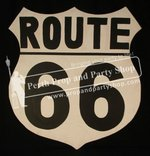 "1-""Route 66"" Sign"