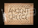 """1-""""ANCIENT GREECE"""" sign"""