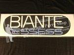 """8-""""Biante Essess"""" Sign"""