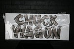 "31-""CHUCK WAGON"" sign"