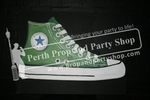 6-GIANT CONVERSE SHOE sign
