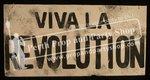 """9-""""VIVA LA REVOLUTION"""" sign"""