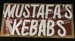 "10-""MUSTAFA'S KEBABS"" sign"
