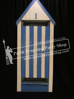 32-English Seaside Hut Blue