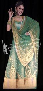 60-Bollywood Dancer (Green)