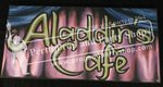 "16-""ALADDIN'S CAFE"" sign"