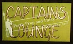 "6-""CAPTAIN'S LOUNGE"" sign"
