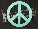 9-PEACE SIGN (green)