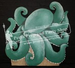 35-GIANT OCTOPUS (green)