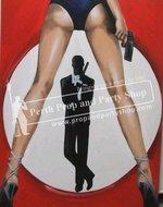 6-JAMES BOND W/GIRLS LEGS
