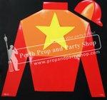 10-SILKS/CAP (RED/ORANGE/YELLOW STAR)